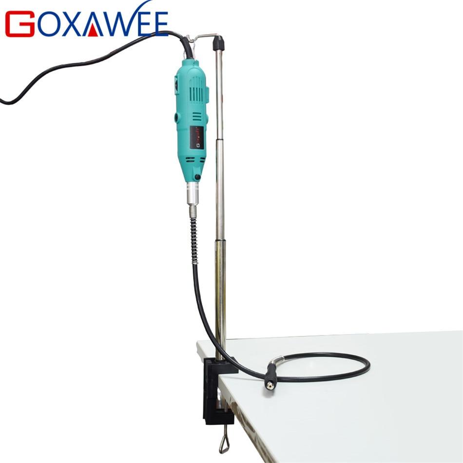 GOXAWEE 2ks Elektrické mini vrtačky Dremel Electric Rotary Tool - Elektrické nářadí - Fotografie 4
