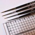 4 pcs 0-00000Clay Cerâmica BJD Boneca Rosto Coloração Caneta Ultrafina Desenhar Linha Fina Modelo de Pintura de Pincel de Maquiagem Ferramentas Da Arte do Prego