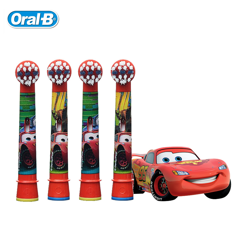 Oral B EB10-4K Children Electric Toothbrush Replacement Head Fit for Kids Electric Tooth brush D12 D10 DB4510 image