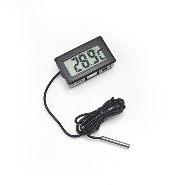 MOSEKO Hot Sale 1PC Digital LCD Probe Fridge Freezer Thermometer Thermograph For Aquarium Refrigerator