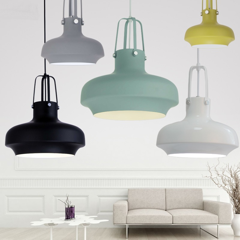 Fashion personality Nordic modern Pendant Lights minimalist dining room single industrial wind bar Pendant lamps ZA FG710 catalog system plast