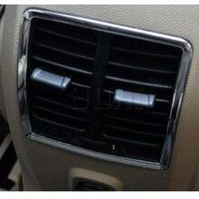 Хромированный подлокотник коробка вентиляционное отверстие Накладка для 2013 FORD Escape kuga
