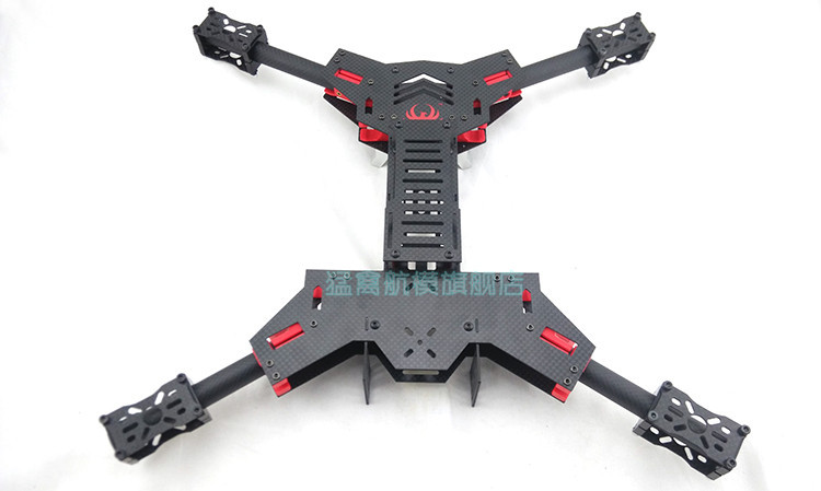 aliexpresscom buy h450 carbon fiber fpv folding quadcopter frame 450 rc multicopter shaped cross frame from reliable frame string suppliers on iqhobby