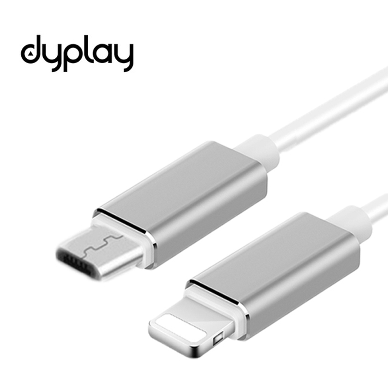 dyplay DAC AMP HiFi OTG Cable for Lightning to Micro USB for iPhone 7 iPad iOS 10-11 with Amplifier Mojo Hugo Sony PHA-1A