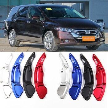 Tommia 2 pçs volante de alumínio shift paddle shifter extensão para honda odyssey 13-14 carro-estilo