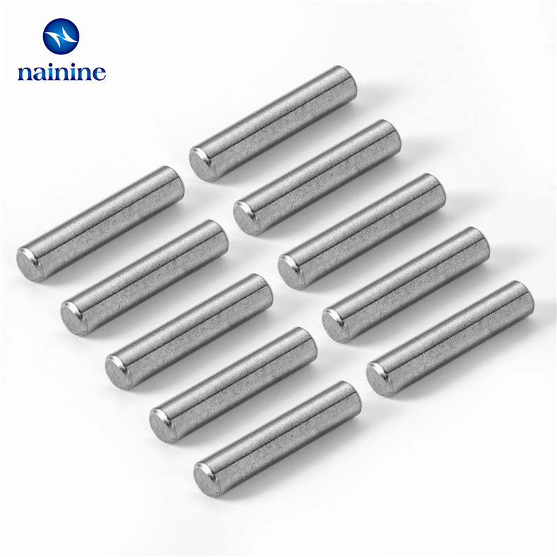 10Pcs M3*12 GB119 304 Stainless Steel Cylindrical Pin Locating Dowel HW042