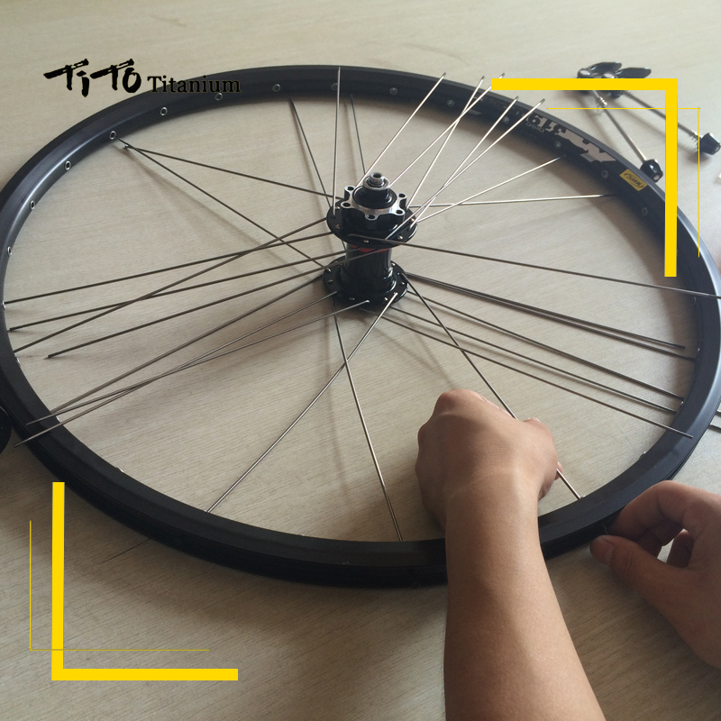 TiTo 28/32/36 pcs multicolour titanium MTB/Road bike
