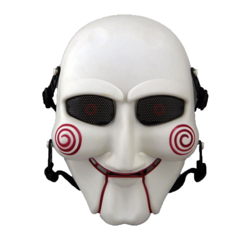 Halloween Cosplay Props Costumes Saw Mask Boutique Plastic Mask Chainsaw Killer Cosplay