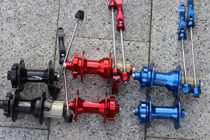 Chosen A4581B/A4587B super-light 4 bearing 30 sound mountain bike hub 28H/32H hole MTB bicycle hubs with QR стоимость