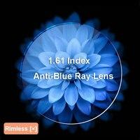 BAONONG 1.61 Anti-Blue Ống Kính Quang Cận Thị Viễn Thị Theo Toa Ống Kính Quang Học Ống Kính Kính Cho Đôi Mắt Bảo Vệ và Sử Dụng Máy Tính