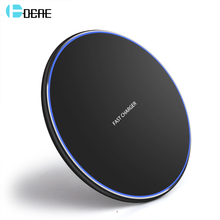 DCAE Qi Wireless Charger For iPhone X/XS Max XR 8 Plus USB Pad 10W Fast Charging Samsung S8 S9 Portable Quick Charge