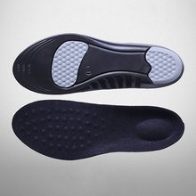 Breathable Masage Soft PU Gel Shock Absorption Comfortable Deodorization Insoles Sports Cushioning Insole Pads