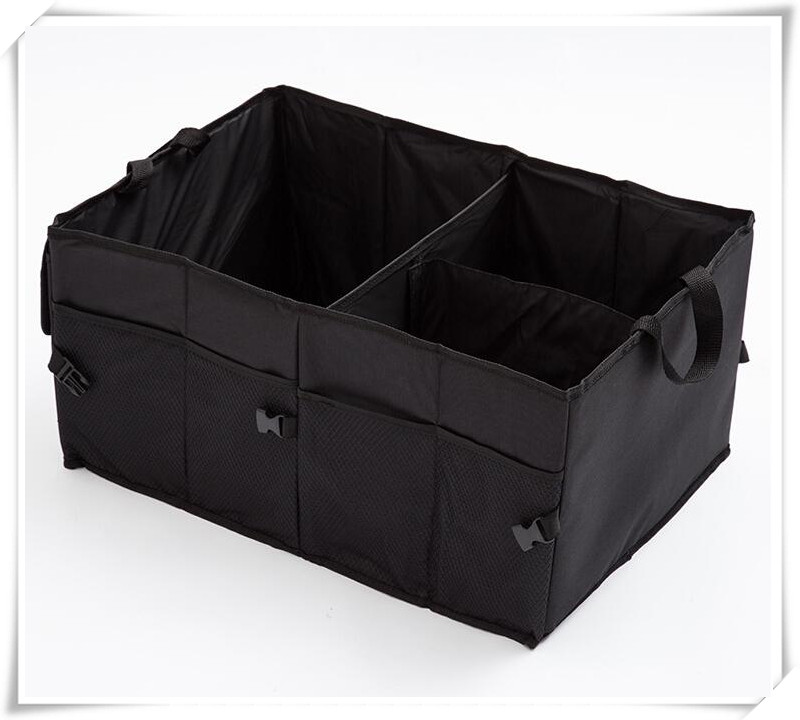 Car Back Folding Storage Box Car Portable Storage for vw passat b5 renault megane 2 golf peugeot 3008 2017 audi a4 Accessories
