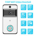 WiFi Video Türklingel Kamera Zwei-weg Video Intercom Tür Glocke PIR Motion Infrarot Nachtsicht Fernbedienung Monitor APP control