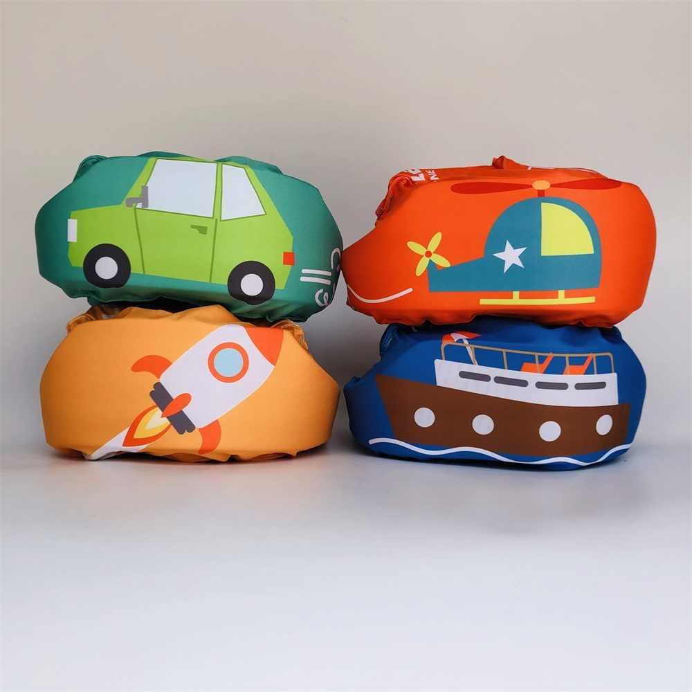 Кронштейн для малышей, кольца, спасательный жилет для детей, Детский надувной спасательный жилет купальный костюм для мальчика, пеноплавающие кольца для девочек, бассейн, плавающая вода, лодка