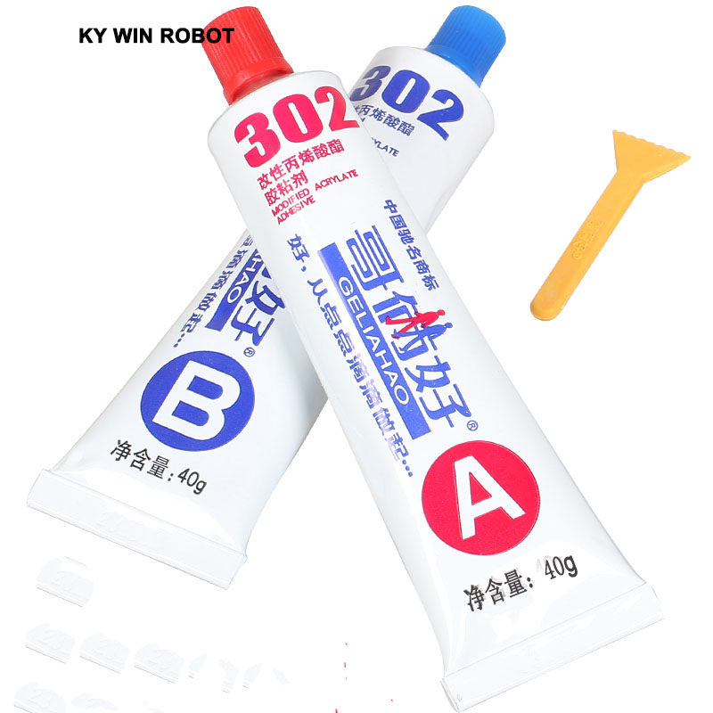 80 g all-purpose adhesive (AB plastic) 302 glue AB glue For Two brothers