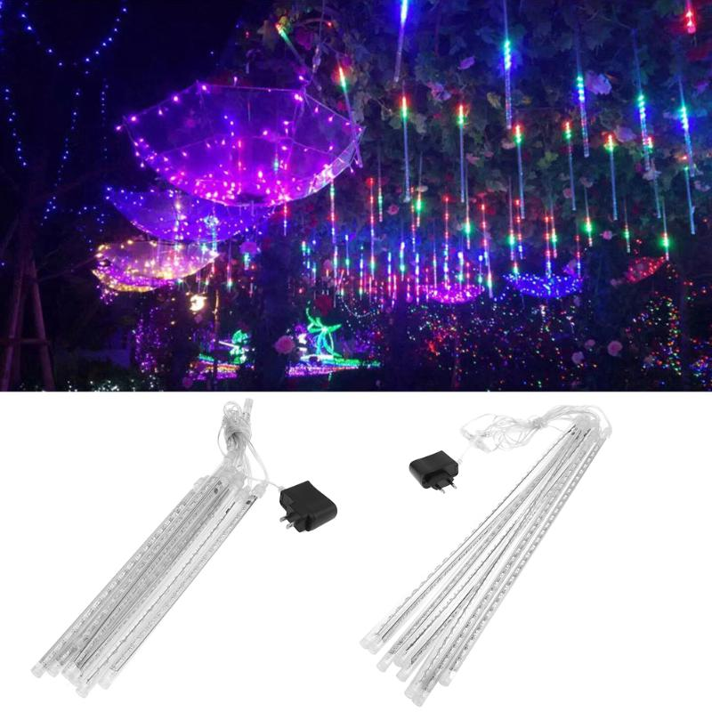 30cm/50cm Waterproof Meteor Shower Rain Tubes AC100-240V LED Christmas Lights Wedding Party Outdoor Garden Xmas String Light
