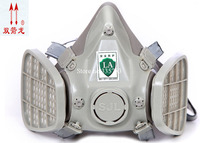 SJL High Quality Respirator Dust Mask Gray Silica Gel Dust Filter Mask PM2 5 Smoke Polished