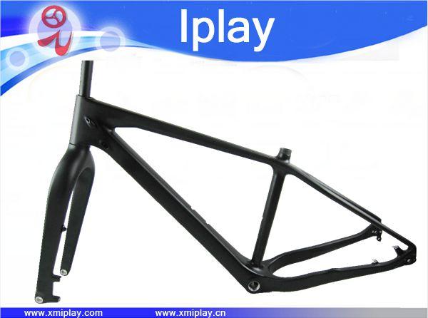 IPLAY 26er Full Carbon Fat Bike Frame 5.0