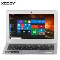 XGODY I802 11.6นิ้วWindows 10แล็ปท็อป2กิกะไบต์RAM 32กิกะไบต์รอมIntel A Tom Z3735F 1.8กิกะ