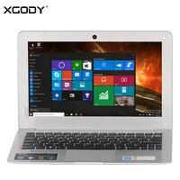 XGODY I802 11 6 Inch Windows 10 Laptop 2GB RAM 32GB ROM Intel Atom Z3735F 1