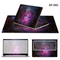Colohas Vogue Computer 3 Sides Protection Decal Notebook Sticker Laptop Skin For Lenovo Air 12 13