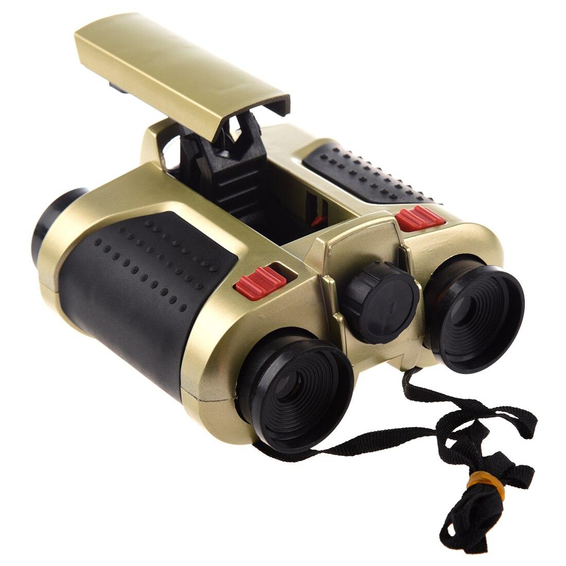 Useful 4x30 Night Scope Binoculars w/ POP Up Light