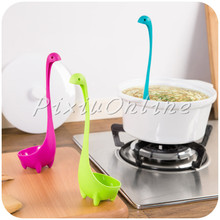 1pc YL43 Fun  Nessie Spoon Creative Cute Dinosau Spoon Large Soup Spoon Kitchen Utensils Cooking Tools Free Shipping Russia