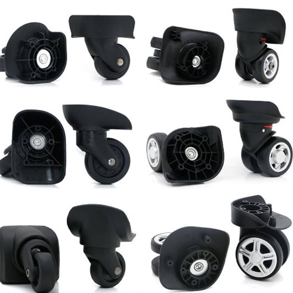 e26ede1cbcd1 US $14.89 28% OFF|Replacement Luggage Suitcase Wheels 360 Mute Swivel  Universal Wheel For Luggage Box Travel Suitcase W041 2-in Bag Parts & ...