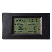 1 шт. AC 80-260 В LCD цифровой 20А вольт ватт измеритель мощности Амперметр Вольтметр электрические аналитические инструменты