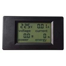 1PC AC 80-260V LCD Digital 20A Volt Watt Power Meter Ammeter Voltmeter Electrical Analysis Instruments