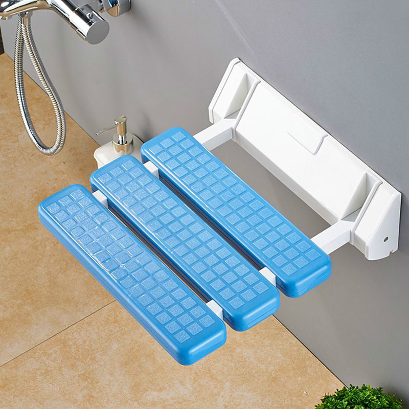 Bathroom folding stool shower seat shower toilet slip bath wall hanging folding chair change shoes sitting stool WF611923