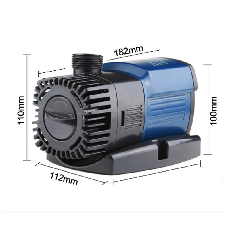 Aquarium Water Pump 220V Aquarium Pump Aquarium Fishing Variable Frequency Submersible Pump Fountain Pump Aquarium Filter (1)