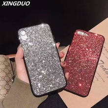 XINGDUO Glitter cute case cover for Huawei P20 P20PRO Bling Rhinestone Case Luxury gift Mate 20 PRO shell
