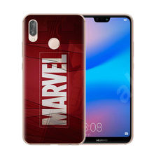 Marvel Avengers Heros Comics Collage Phone Case For Huawei P8 P9 Lite 2017 Mate 20 P10 P20 P30 Lite Pro Cover Soft TPU Cover