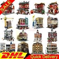 DHL leleings 15019 15001 15002 15003 15004 15005 15007 15008 15011 16050 15031 15034 15035 XINGBAO 01001 Model Building blocks