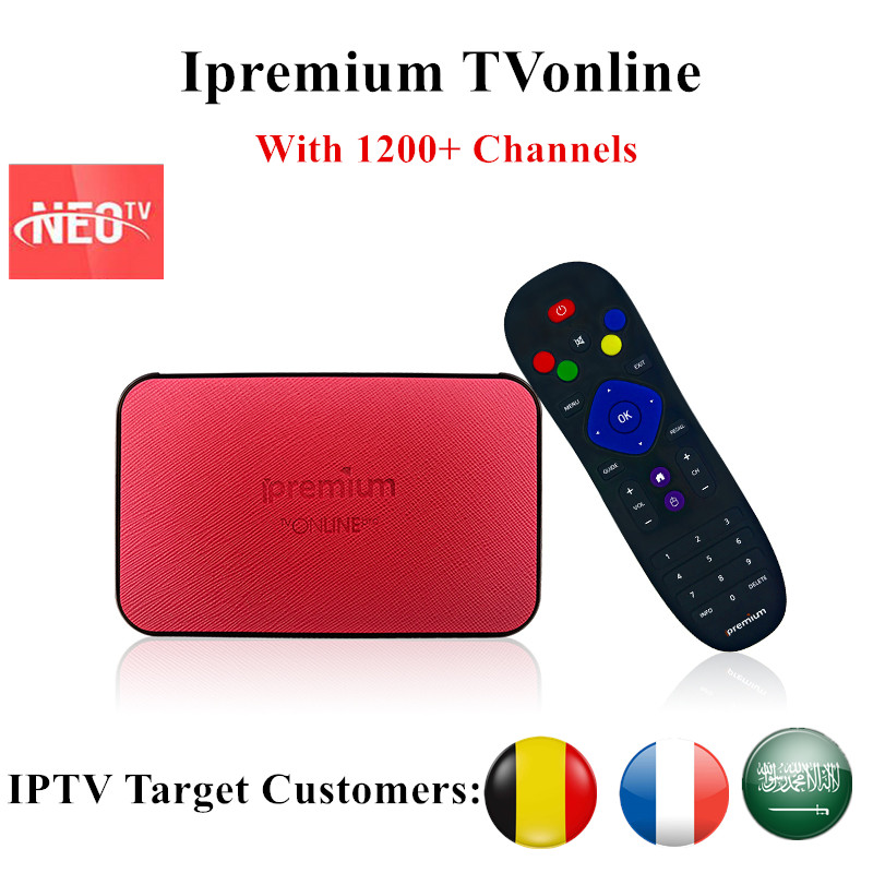 Best AVOV TVonline IPTV Box With NEOTV 1000+ Arabic French Portugal Benelux IPTV Mickyhop System Set-Top Box Better than MAG254 benelux 1 500 000