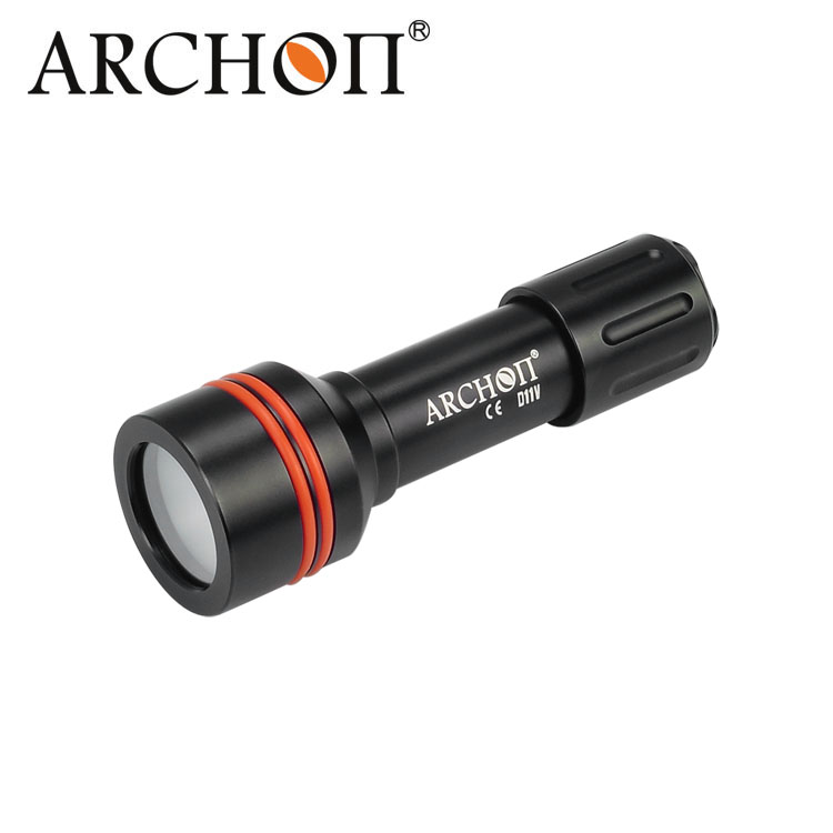 ARCHON D11V LED 3 Modes Underwater 100M Photographing Light Video Diving Flashlight Torch Lamp Lantern 3800 lumens cree xm l t6 5 modes led tactical flashlight torch waterproof lamp torch hunting flash light lantern for camping z93