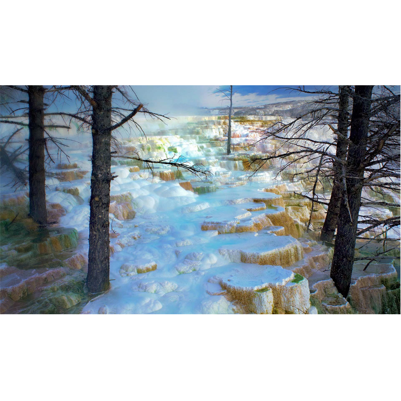 Full Square Drill 5D DIY Diamond Painting quot Yellowstone National Park USA quot Embroidery Cross Stitch Mosaic Home Decor Gift Y2983 in Diamond Painting Cross Stitch from Home amp Garden