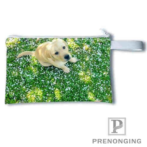 Perro personalizado (3) @ estampado monedero cambio monedero cremallera cero billetera teléfono llavero moda pequeña mujer monedero #19-01 -22-4-195