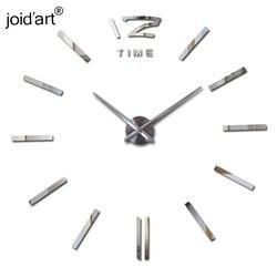Настенные часы, большие декоративные настенные часы для домашнего декора, сделай сам, наклейки для гостиной, 2019