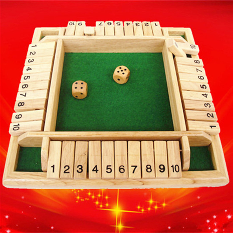 quot Digital 2 People quot Funny Puzzle Game For Party Club Family Games Shut The Box Board Set Number Education Toys For Childern in Math Toys from Toys amp Hobbies