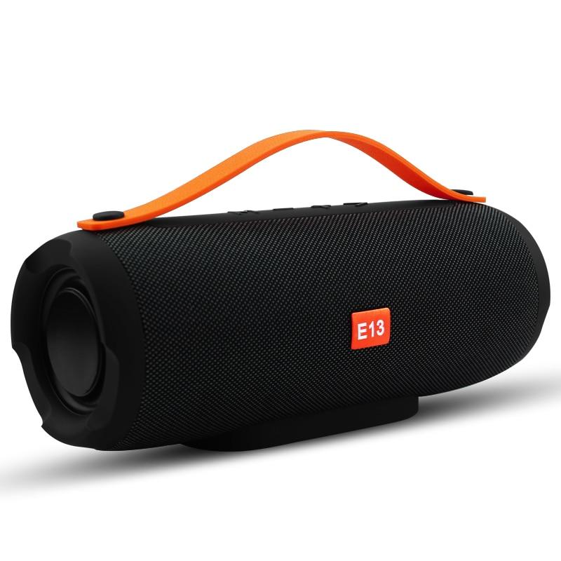 E13 Mini Portátil Sem Fio Bluetooth Speaker Stereo Speakerphone Música Coluna Subwoofer Alto-falantes para Computador com FM TF Rádio