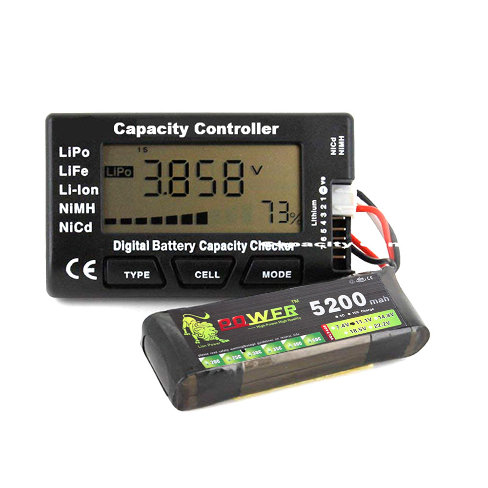 CellMeter 7 V2 with balance function Digital Battery