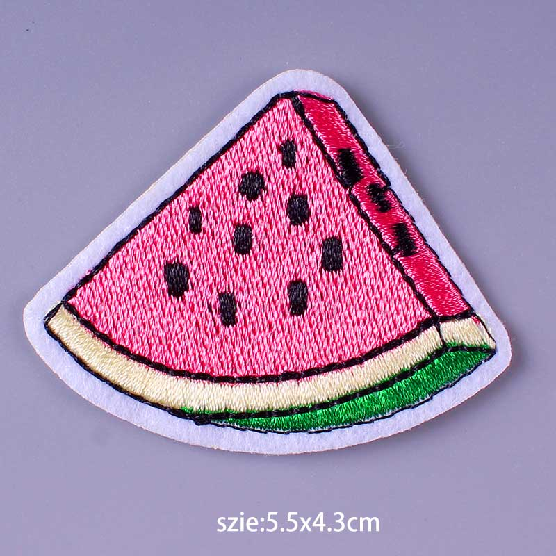 HTB19ACqe3aH3KVjSZFjq6AFWpXaF Nirvana Maple Leaf Patch Embroidery Patches For Clothing Cute Cat Unicorn Animal Iron On Patches On Clothes Watermelon Sticker