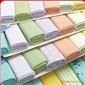 (8 pcs = pack) tamanho grande 23x23 cm Toalha Bebê Pano Infantil Toalha de Alimentação Do Bebê toalha Lenço