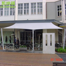 6 x 6 M/pcs Customized Commercial Carport Square Shde Sail 95% UV protection with free ropes
