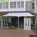 6x6 M/pcs Personalizado Garagem Comercial Praça Shde Vela 95% de proteção UV com cordas grátis