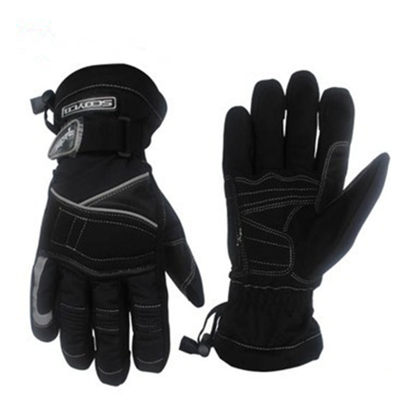 Winter Motorcycle Gloves Full Finger Motorbike Glove 100 Waterproof Windproof Warm Luvas Cycling Racing Sport Protective