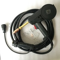 QLBF 200III MIG Spool Gun Push Pull Feeder Aluminum Welding Torch 3M